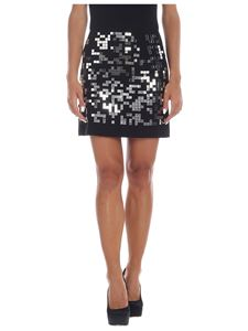 Pinko - Home 1 skirt in black and silver