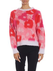 Pinko - Ceceno pullover in lilac and fuchsia