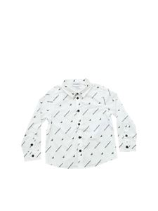 Emporio Armani - White shirt with logo print