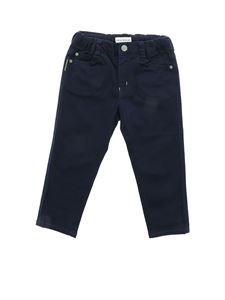 Emporio Armani - Blue pants with logo label