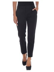 Pinko - Bello 78 trousers in black and lamé