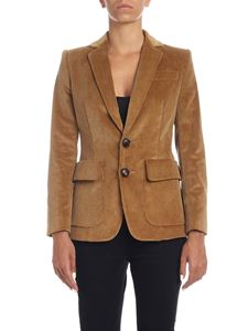 Dsquared2 - Corduroy jacket in camel color
