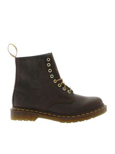 Dr. Martens - Crazy horse ankle boots in brown