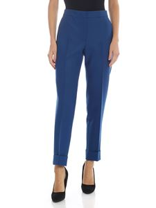PT01 - Andrea trousers in peacock blue color