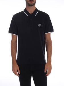 Kenzo - Tiger Crest polo in black