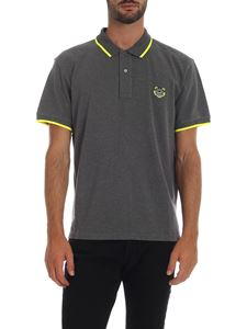 Kenzo - Tiger Crest Polo in gray