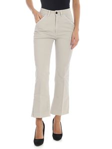 Department 5 - Xsara bootcut trousers in ice color