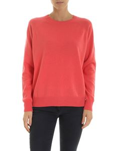 Peserico - Pink pullover with microbeads