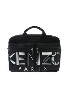 Kenzo - Kenzo Paris briefcase in black