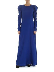 Parosh - Senver dress in electric blue color