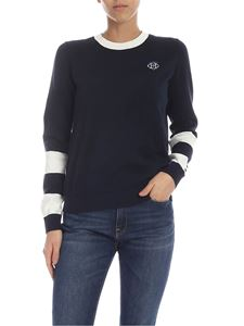 Tommy Hilfiger - TH logo embroidery pullover blue