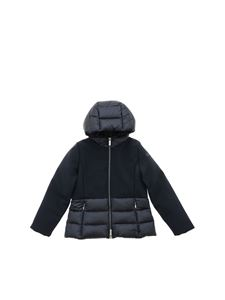 RRD Roberto Ricci Designs - Winter Hybrid Hood Girl down jacket in blue