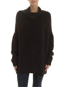 Rundholz - Flared pullover in brown