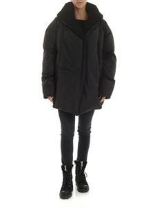 Rundholz Black Label - Oversized hooded jacket in black