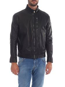 Volfagli - Tognazzi jacket in black leather