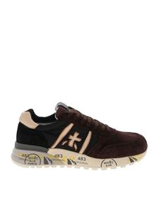 Premiata - Lander sneakers in brown and black