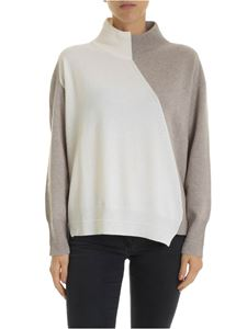Lorena Antoniazzi - Cashmere blend high collar pullover
