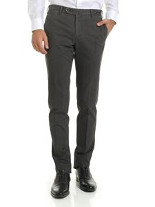 PT01 - Trousers in grey cotton