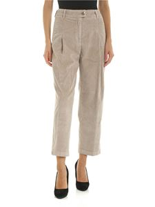 Jacob Cohën - Lidia trousers in beige corduroy