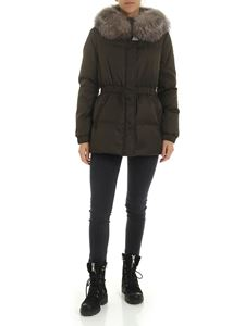 Moncler - Fatsialfur down jacket in Army green color