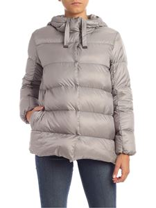 Max Mara - Seicar down jacket in grey