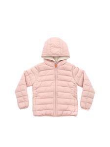Save the duck - Pink down jacket with fleece lining
