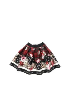 Monnalisa - Scottish print wheel skirt