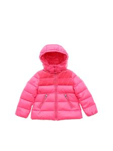Moncler Jr - Raspal down jacket in fuchsia