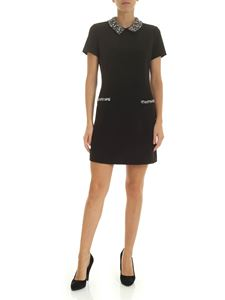Ermanno by Ermanno Scervino - Black dress with silver rhinestones