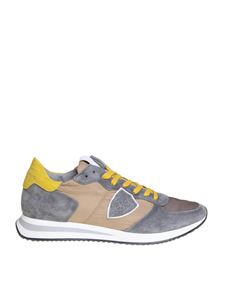 Philippe Model - Trpx sneakers in beige and gray