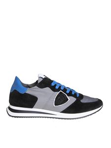 Philippe Model - Trpx sneakers in black and gray