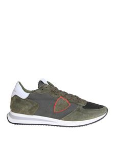 Philippe Model - Trpx sneakers in Army green