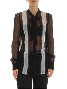 Ermanno by Ermanno Scervino - Black and white lace shirt
