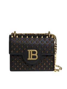 Balmain - B-Bag 18 shoulder bag in black
