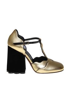 Marni - Teatro pumps in golden nappa