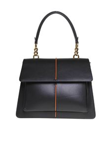 Marni - Attachè shoulder bag in black
