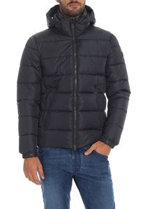 Save the duck - Down jacket in synthetic padding in gray