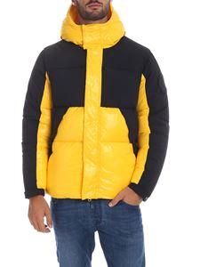 Save the duck - Down jacket in yellow with black details