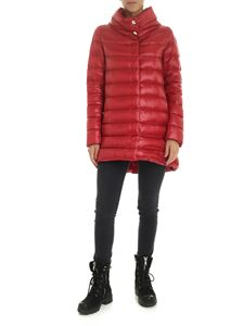 Herno - Amelia quilted jacket in red