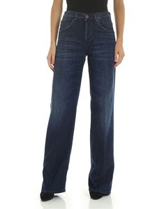Dondup - Jacklin palazzo jeans in blue