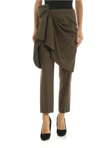 Stella Jean - Green trousers with bow detail