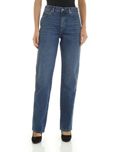 Calvin Klein - Straight fit 5 pocket jeans in blue