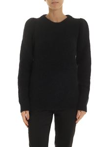 Semicouture - Alpaca and mohair pullover in black
