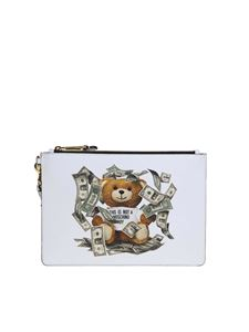 Moschino - Dollar Teddy Bear clutch in black