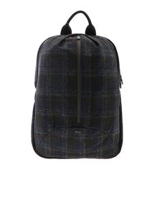 Herno Laminar - Backpack in checked fabric