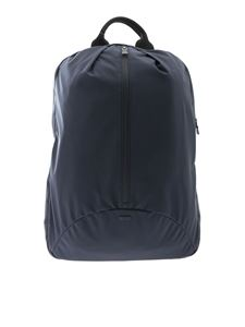 Herno Laminar - Blue backpack with heat-sealed zip