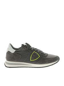 Philippe Model - Trpx sneakers in grey color