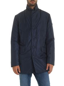 Save the duck - Blue padded coat