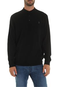 POLO Ralph Lauren - Black polo shirt with logo embroidery