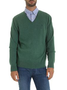 POLO Ralph Lauren - Green pullover with logo embroidery